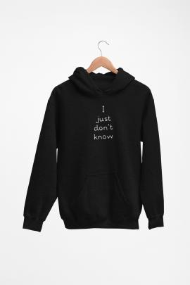 just dont know - Hoodie XG128