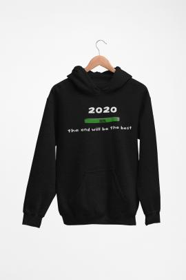 The end will be best 2020 - Hoodie XG120