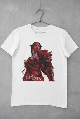 For The Horde White T Shirt XL720